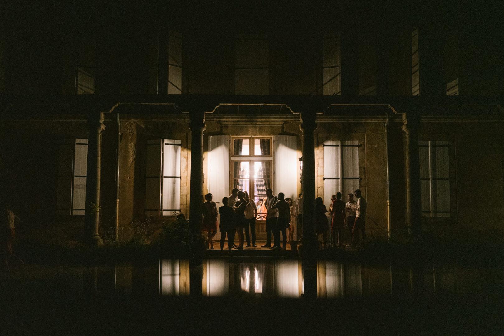 chateau de lhers nuit