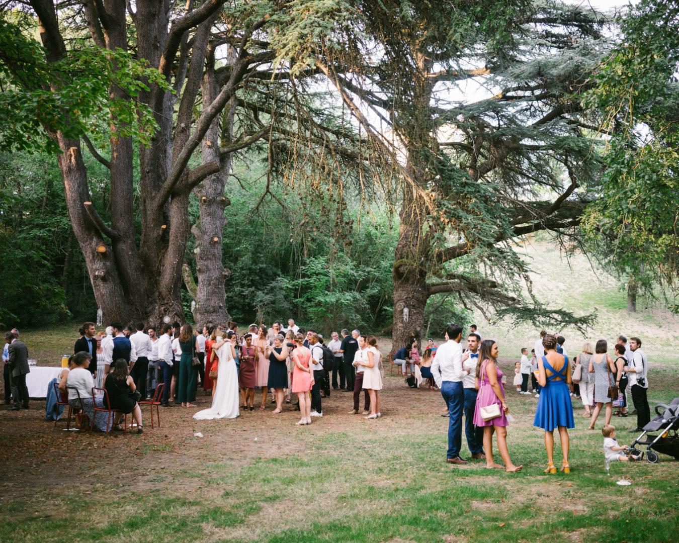 mariage parc chateau de lhers arbres centenaires