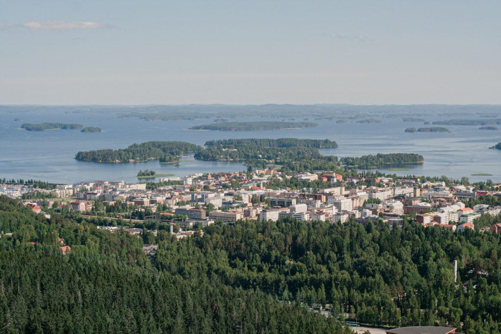 kuopio finland vue du ciel