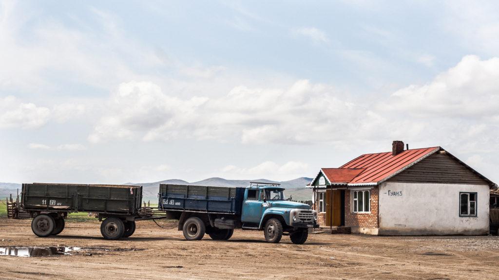 maison mongolie camion