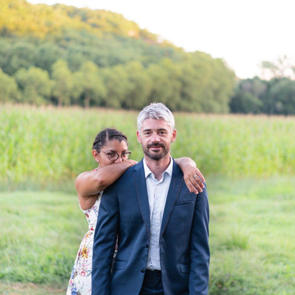 mariés shooting couple